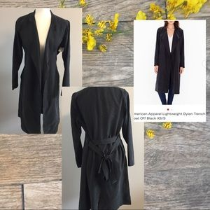 American Apparel   Dylan Trench Coat